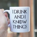 I drink and I know things kubek