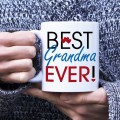 Kubek Best Grandma Ever standardowy 330 ml