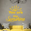 You are my sunshine naklejka