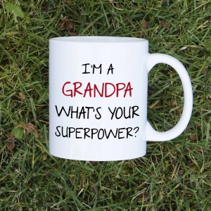 I'm a grandpa, what's your superpower kubek