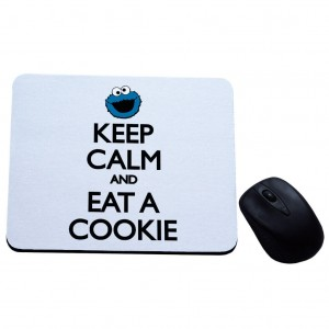 Keep Calm and eat cookie podkładka