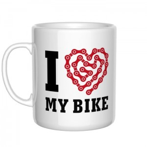 I love my bike kubek