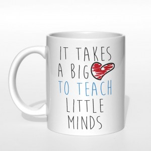 It takes a big love to teach little minds kubek