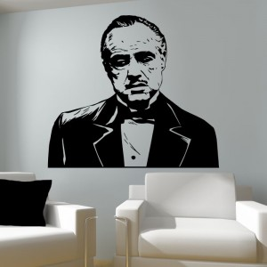 Don Vito Corleone Godfather naklejka