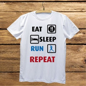 Eat Sleep Run Repeat koszulka