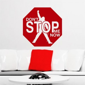 Don't stop me now Freddie Mercury naklejka