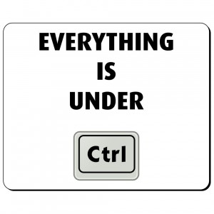 Everything is under CTRL podkładka