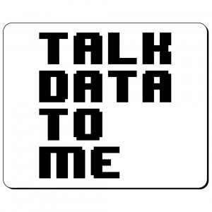 Talk data to me podkładka
