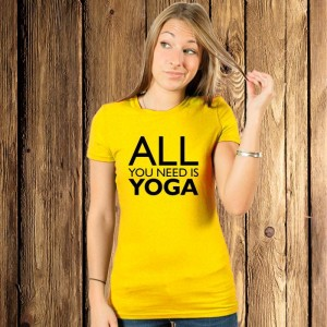 All you need is yoga koszulka