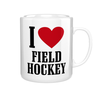 I Love Field Hockey kubek