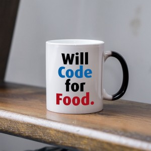 Will code for food kubek