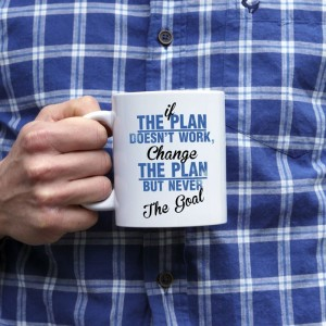 If the plan doesn't work, change the plan kubek
