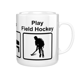 Eat Sleep Play Field Hockey kubek