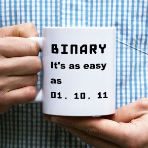 BINARY, it's easy kubek