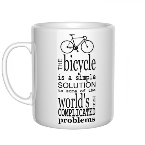 The bicycle is simple solution kubek