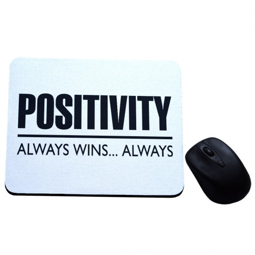 Positivity always wins always podkładka z nadrukiem
