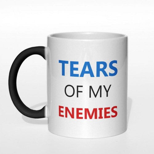 Tears of my enemies kubek magiczny