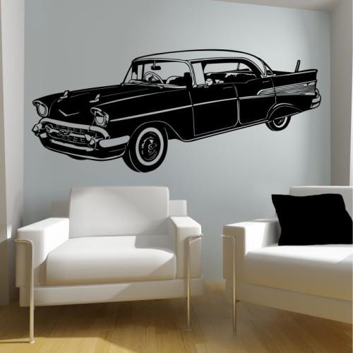 Cadillac Fleetwood Naklejka Na ścianę Samochody Mistickers