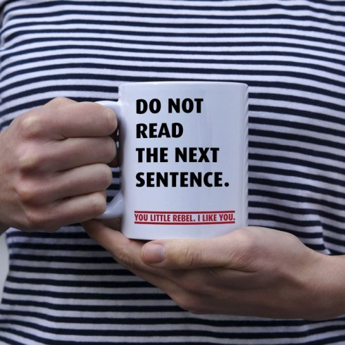 Do not read next sentence kubek standardowy 330 ml