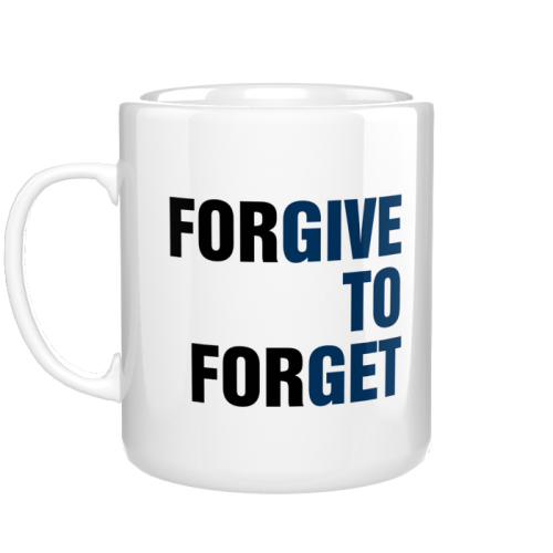 Kubek Forgive to forget