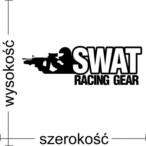Naklejka JDM SWAT Racing Gear
