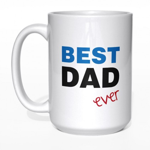 Best Dad Ever kubek dla taty duży 450 ml