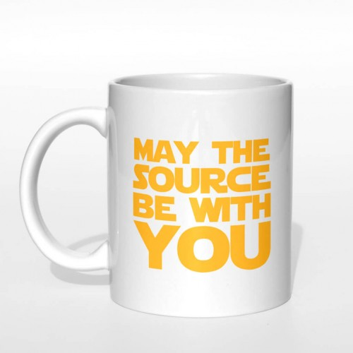 May the source be with you kubek normalny