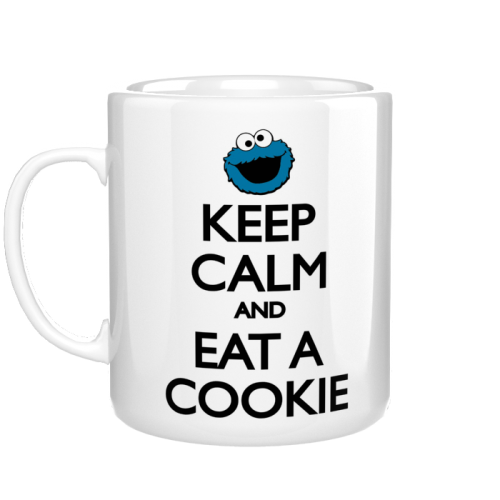 Kubek - Keep Calm and Eat a Cookie