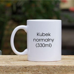 Kubek standardowy 330 ml
